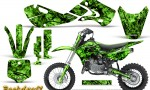 Kawasaki KLX110 02 09 KX65 02 12 CreatorX Graphics Kit Backdraft Green 150x90 - Kawasaki KX65 2002-2017 Graphics