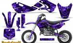 Kawasaki KLX110 02 09 KX65 02 12 CreatorX Graphics Kit Backdraft Purple 150x90 - Kawasaki KX65 2002-2017 Graphics