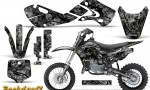 Kawasaki KLX110 02 09 KX65 02 12 CreatorX Graphics Kit Backdraft Silver 150x90 - Kawasaki KX65 2002-2017 Graphics
