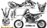 Kawasaki KLX110 02 09 KX65 02 12 CreatorX Graphics Kit Backdraft White 150x90 - Kawasaki KX65 2002-2017 Graphics