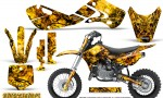 Kawasaki KLX110 02 09 KX65 02 12 CreatorX Graphics Kit Inferno Yellow 150x90 - Kawasaki KX65 2002-2017 Graphics