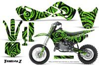 Kawasaki-KLX110-02-09-KX65-02-12-CreatorX-Graphics-Kit-TribalZ-Green