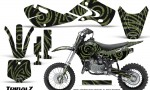 Kawasaki KLX110 02 09 KX65 02 12 CreatorX Graphics Kit TribalZ GreenArmy 150x90 - Kawasaki KX65 2002-2017 Graphics