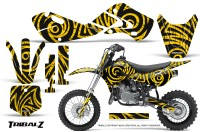 Kawasaki-KLX110-02-09-KX65-02-12-CreatorX-Graphics-Kit-TribalZ-Yellow