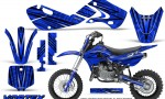 Kawasaki KLX110 02 09 KX65 02 12 CreatorX Graphics Kit VorteX Blue 150x90 - Kawasaki KX65 2002-2017 Graphics