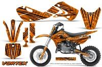 Kawasaki-KLX110-02-09-KX65-02-12-CreatorX-Graphics-Kit-VorteX-Orange