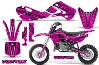 Kawasaki-KLX110-02-09-KX65-02-12-CreatorX-Graphics-Kit-VorteX-Pink