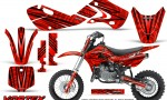Kawasaki KLX110 02 09 KX65 02 12 CreatorX Graphics Kit VorteX Red 150x90 - Kawasaki KX65 2002-2017 Graphics