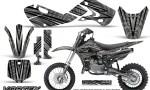 Kawasaki KLX110 02 09 KX65 02 12 CreatorX Graphics Kit VorteX Silver 150x90 - Kawasaki KX65 2002-2017 Graphics