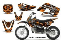 Kawasaki-KLX110-KX65-CreatorX-Graphics-Kit-Bolt-Thrower-Orange