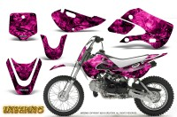 Kawasaki-KLX110-KX65-CreatorX-Graphics-Kit-Inferno-Pink