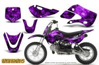 Kawasaki-KLX110-KX65-CreatorX-Graphics-Kit-Inferno-Purple