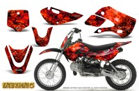 Kawasaki-KLX110-KX65-CreatorX-Graphics-Kit-Inferno-Red