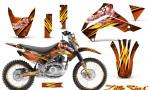 Kawasaki KLX140 08 14 CreatorX Graphics Kit Little Sins Orange NP Rims 150x90 - Kawasaki KLX140 2008-2017 Graphics