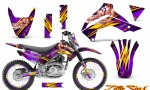 Kawasaki KLX140 08 14 CreatorX Graphics Kit Little Sins Purple NP Rims 150x90 - Kawasaki KLX140 2008-2017 Graphics