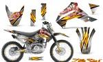 Kawasaki KLX140 08 14 CreatorX Graphics Kit Little Sins White NP Rims 150x90 - Kawasaki KLX140 2008-2017 Graphics