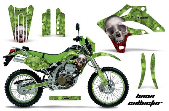 Kawasaki KLX250 04 07 AMR Graphics Kit Bones G NPs 570x376 - Kawasaki KLX250 2004-2007 Graphics