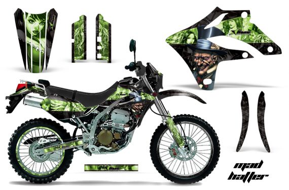 Kawasaki KLX250 04 07 AMR Graphics Kit Mad Hatter GK NPs 570x376 - Kawasaki KLX250 2004-2007 Graphics