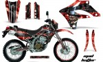 Kawasaki KLX250 04 07 AMR Graphics Kit Mad Hatter RK NPs 150x90 - Kawasaki KLX250 2004-2007 Graphics