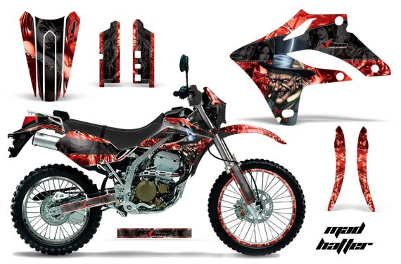 Kawasaki KLX250 04 07 AMR Graphics Kit Mad Hatter RK NPs 570x376 - Kawasaki KLX250 2004-2007 Graphics