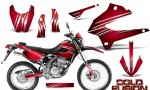 Kawasaki KLX250 08 13 DTRACK CreatorX Graphics Kit Cold Fusion Red BB NP 150x90 - Kawasaki KLX250 2008-2018 Graphics