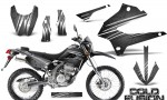 Kawasaki KLX250 08 13 DTRACK CreatorX Graphics Kit Cold Fusion Silver NP Rims 150x90 - Kawasaki KLX250 2008-2018 Graphics