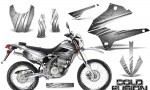 Kawasaki KLX250 08 13 DTRACK CreatorX Graphics Kit Cold Fusion White NP Rims 150x90 - Kawasaki KLX250 2008-2018 Graphics