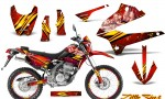 Kawasaki KLX250 08 13 DTRACK CreatorX Graphics Kit Little Sins Red NP Rims 150x90 - Kawasaki KLX250 2008-2018 Graphics