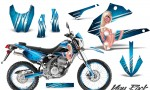 Kawasaki KLX250 08 13 DTRACK CreatorX Graphics Kit You Rock BlueIce NP Rims 150x90 - Kawasaki KLX250 2008-2018 Graphics