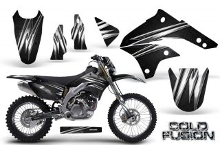Kawasaki KLX450 CreatorX Graphics Kit 08 12 Cold Fusion Black NP Rims 320x211 - Kawasaki KLX450 2008-2013 Graphics