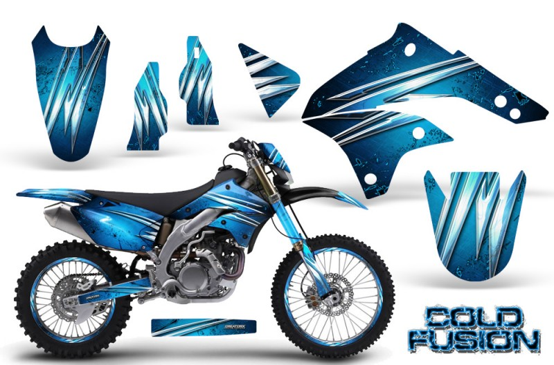 Kawasaki-KLX450-CreatorX-Graphics-Kit-08-12-Cold-Fusion-BlueIce-NP-Rims