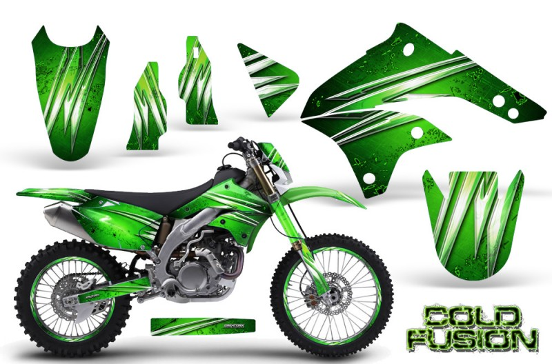 Kawasaki-KLX450-CreatorX-Graphics-Kit-08-12-Cold-Fusion-Green-NP-Rims