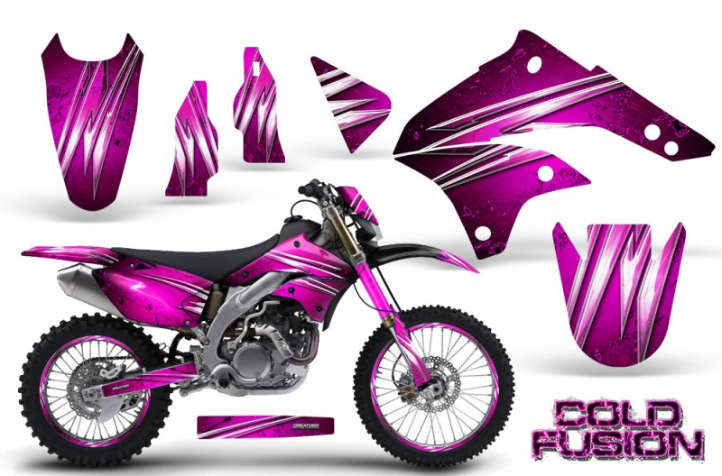 Kawasaki-KLX450-CreatorX-Graphics-Kit-08-12-Cold-Fusion-Pink-NP-Rims