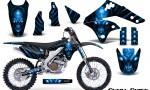 Kawasaki KX250F 06 08 Graphics Kit Skull Chief Blue NP Rims 150x90 - Kawasaki KX250F 2006-2008 Graphics