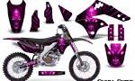 Kawasaki KX250F 06 08 Graphics Kit Skull Chief Pink NP Rims 150x90 - Kawasaki KX250F 2006-2008 Graphics