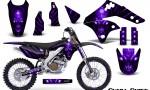 Kawasaki KX250F 06 08 Graphics Kit Skull Chief Purple NP Rims 150x90 - Kawasaki KX250F 2006-2008 Graphics