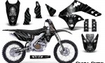 Kawasaki KX250F 06 08 Graphics Kit Skull Chief Silver NP Rims 150x90 - Kawasaki KX250F 2006-2008 Graphics