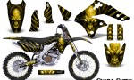 Kawasaki KX250F 06 08 Graphics Kit Skull Chief Yellow NP Rims 150x90 - Kawasaki KX250F 2006-2008 Graphics