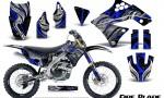 Kawasaki KX250F 09 12 CreatorX Graphics Kit Fire Blade Blue Black NP Rims 150x90 - Kawasaki KX250F 2009-2012 Graphics
