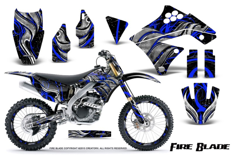 Kawasaki-KX250F-09-12-CreatorX-Graphics-Kit-Fire-Blade-Blue-Black-NP-Rims