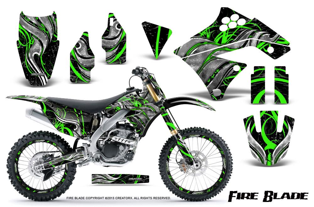 kawasaki kx250f 2009-2012 graphics | creatorx graphics mx & atv