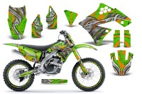 Kawasaki-KX250F-09-12-CreatorX-Graphics-Kit-Fire-Blade-Orange-Green-NP-Rims