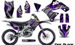 Kawasaki KX250F 09 12 CreatorX Graphics Kit Fire Blade Purple Black NP Rims 150x90 - Kawasaki KX250F 2009-2012 Graphics