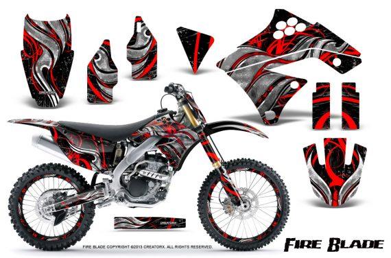 Kawasaki KX250F 09 12 CreatorX Graphics Kit Fire Blade Red Black NP Rims 570x376 - Kawasaki KX250F 2009-2012 Graphics