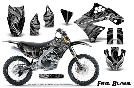 Kawasaki KX250F 09 12 CreatorX Graphics Kit Fire Blade Silver Black NP Rims 570x376 - Kawasaki KX250F 2009-2012 Graphics