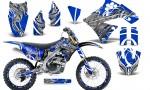 Kawasaki KX250F 09 12 CreatorX Graphics Kit Fire Blade White Blue NP Rims 150x90 - Kawasaki KX250F 2009-2012 Graphics
