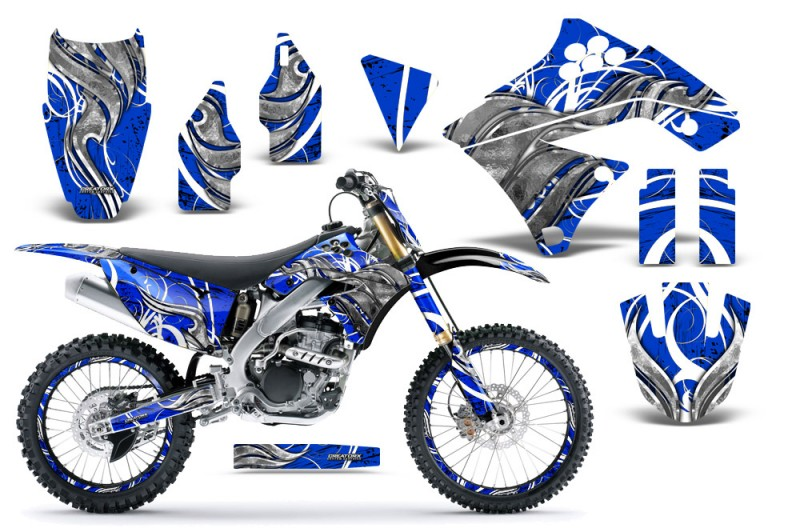 Kawasaki-KX250F-09-12-CreatorX-Graphics-Kit-Fire-Blade-White-Blue-NP-Rims