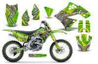 Kawasaki-KX250F-09-12-CreatorX-Graphics-Kit-Fire-Blade-Yellow-Green-NP-Rims