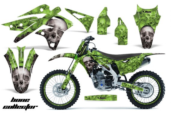 Kawasaki KX250F 2013 AMR Graphics Kit Decal Bones G NPs 570x376 - Kawasaki KX250F 2013-2016 Graphics