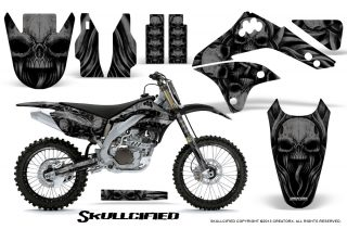 Kawasaki-KX450F-06-08-CreatorX-Graphics-Kit-Skullcified-Black-NP-Rims